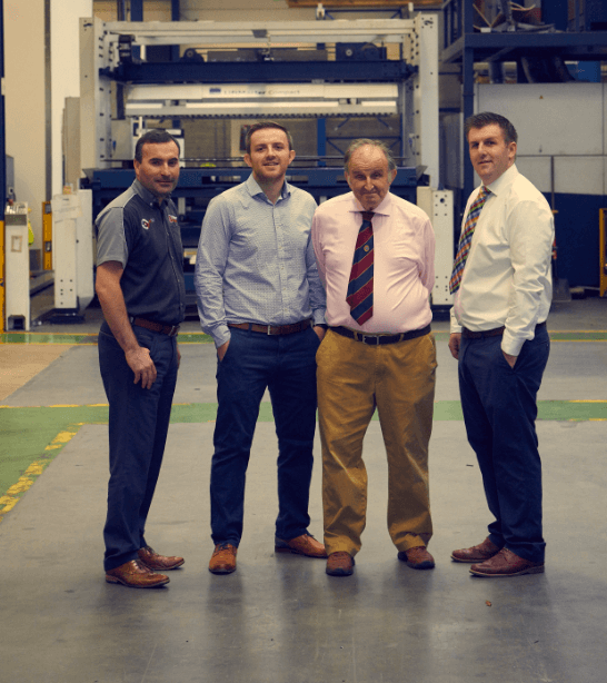 Trumpf and Hutchinson Engineering Quality Partners….