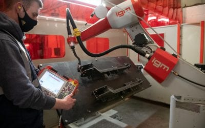Robotic Welding is the perfect addition to our World Class Fabrication Facility